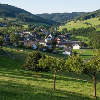 Blick über Oberhennneborn