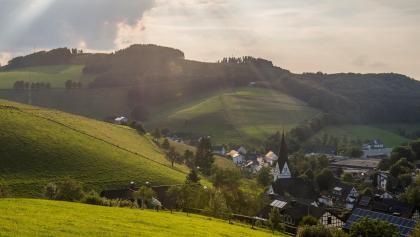 Blick über Kirchrarbach