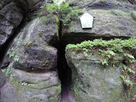 Foto Das Mundloch der Schwedenhöhle