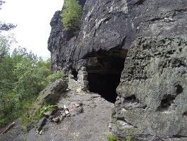 Foto Das Mundloch der Lichterhöhle
