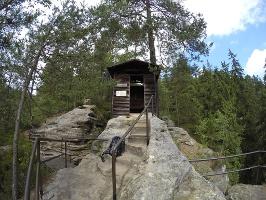 """Foto Unterstandshäuschen """"Schlegelhütte"""" am Herrmannseck"""