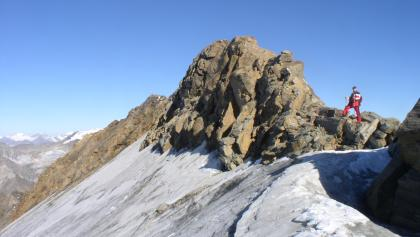 Gratübergang Schareck und Baumbachspitze