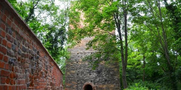 Eilenburg, Spätromanischer Wohnturm