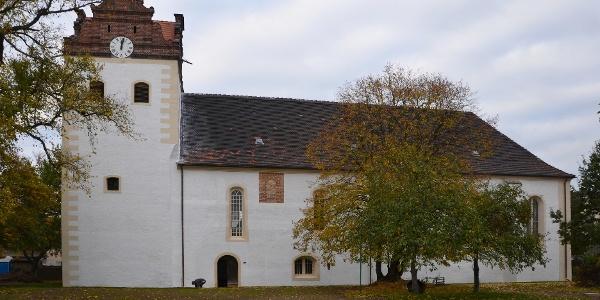 Löbnitz, Evang. Pfarrkirche