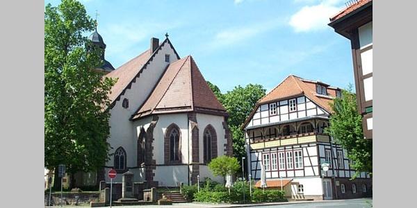 St. Laurentius Kirche - Aussenansicht