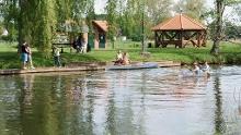 Zu Fuß rund um den Neuendorfer See