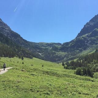 Bergpanorama mit Elfer und Kleinem Widderstein