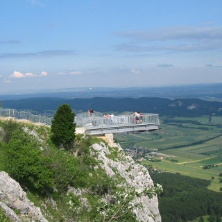 Aussichtsterrasse Skywalk - Wiener Alpen Blick