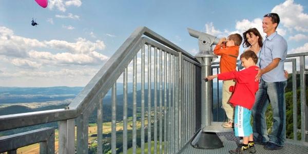 Aussichtsterrasse Skywalk_Paragleiten