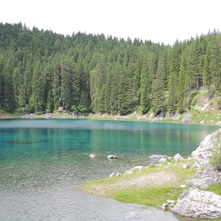 Blick über den Karer See