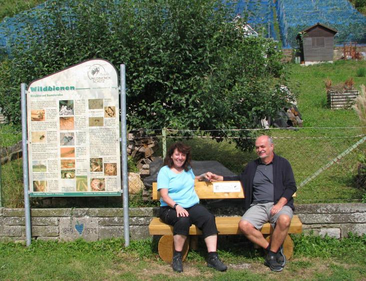 Informationspfad zu Wildbienen, Hummeln  und Hornissen -  Rottenburg am Neckar
