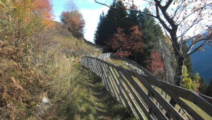 Wie in früheren Zeiten - urige Steige und Wege
