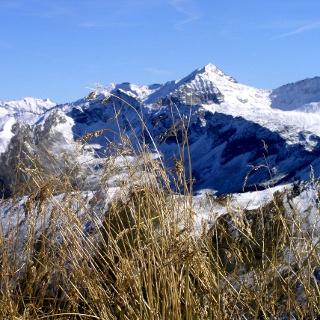 Keeskogel 2884m, schon tief verschneit