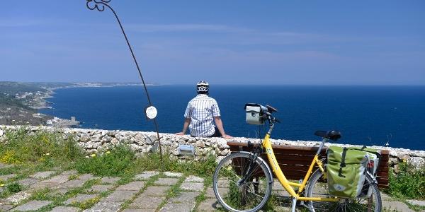 Fahrradtour mit Meerblick