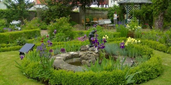 Garten Brockmann Obernkirchen Rondell
