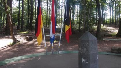 Dreiländereck Deutschland, Niederlande. Belgien