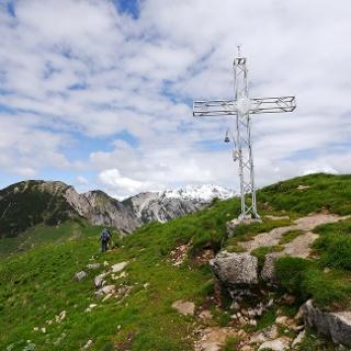 Das Gipfelkreuz des Monte Gramolon