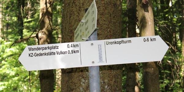 Wanderwegkreuzung Bohnacker