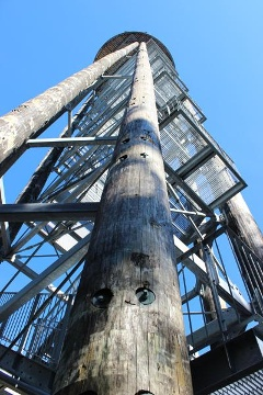 Treppenaufbau des Urenkopfturms
