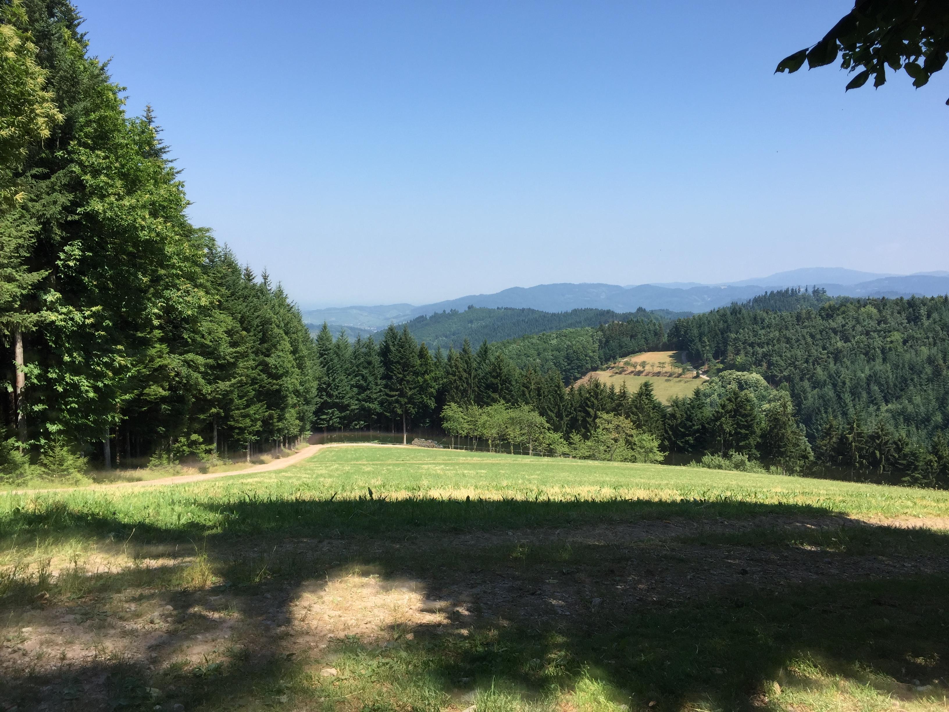 Ofenlochhütte Aussicht