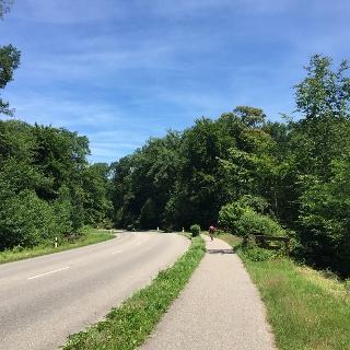 Radweg bei Rammersweier
