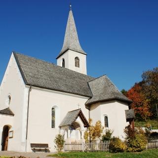 Idyllisches Dorfzentrum in St. Felix