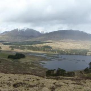 Blick auf den Loch Tulla