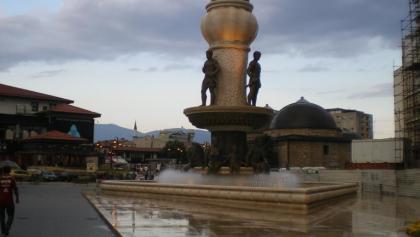 Skopje. Prima übernachtungs möglichkeiten