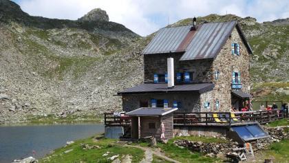 Die Flaggerschartenhütte