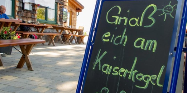 Die Kaiserkogelhütte des ÖTK heißt dich willkommen!