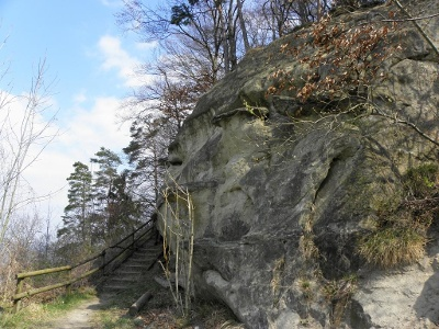 Weisser Felsen bei Berlingen