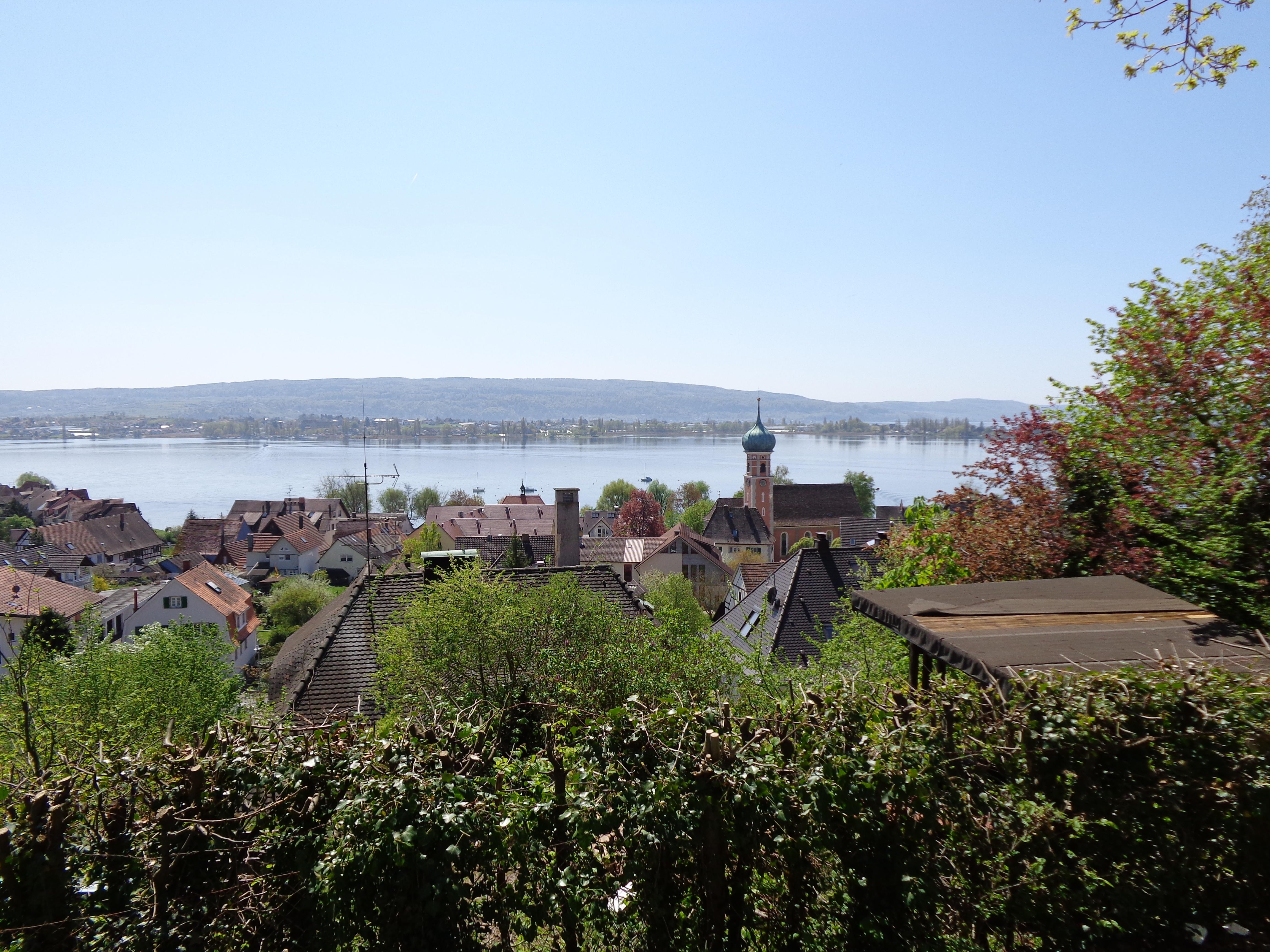 Blick auf den Untersee vom Höhrenberg