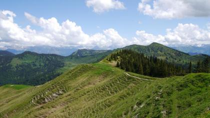 Ausblick vom Bleicherhorn