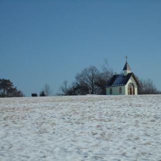 Die Kottenborner Kapelle im Winter
