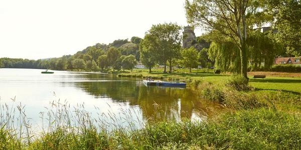 Baden am Donausee im Freizeitzentrum Weitenegg