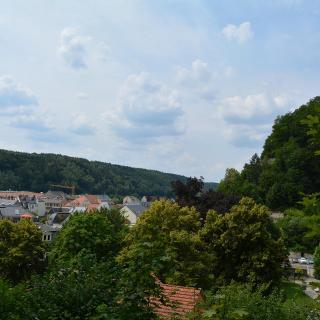 Blick über Bad Schandau