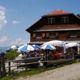 Alpine hut Untere Richteralpe