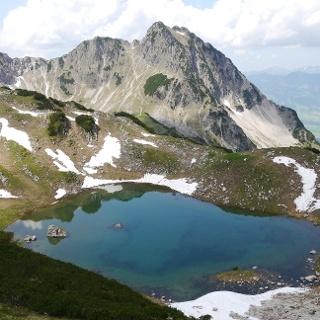 Lake Oberer Gaisalpsee