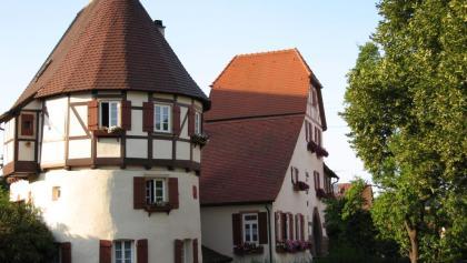 Turm von Kirchenburg Merklingen