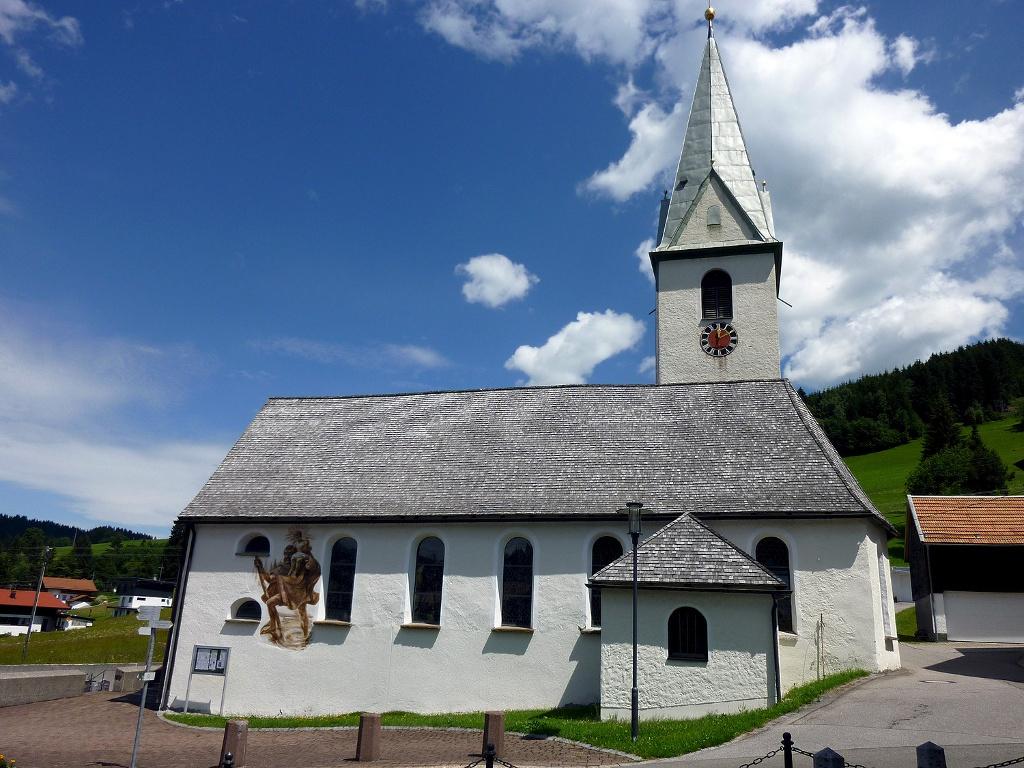 Pfarrkirche Maria Namen   - @ Autor: Michael Keller  - © Quelle: Tourismusverband Tannheimer Tal