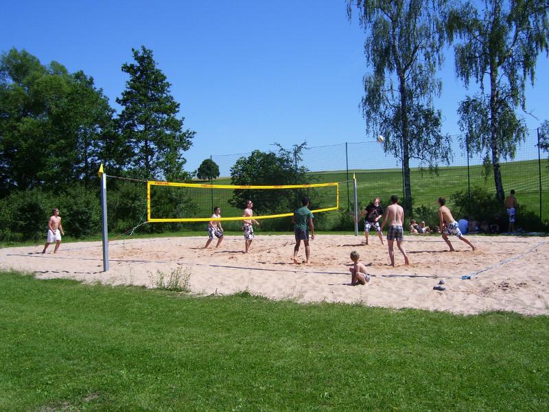 Beachvolleyballfeld Unteraspach   - © Quelle: Stadt Ilshofen
