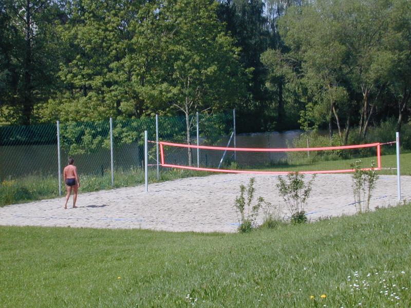Beachvolleyballfeld in Fichtenau-Lautenbach   - © Quelle: Gemeinde Fichtenau