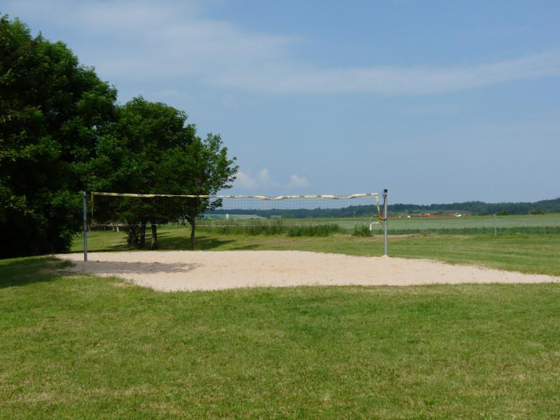 Beachvolleyballfeld am Reiglersbachstausee   - © Quelle: Gemeinde Stimpfach