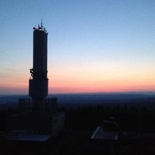 Sonnenaufgang am Kornberg
