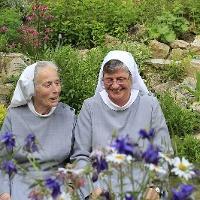 Schwester Ursula und Schwester Margot im Zionsberg