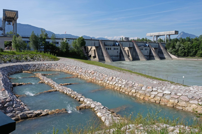Innkraftwerk Niederndorf, Fischtreppe