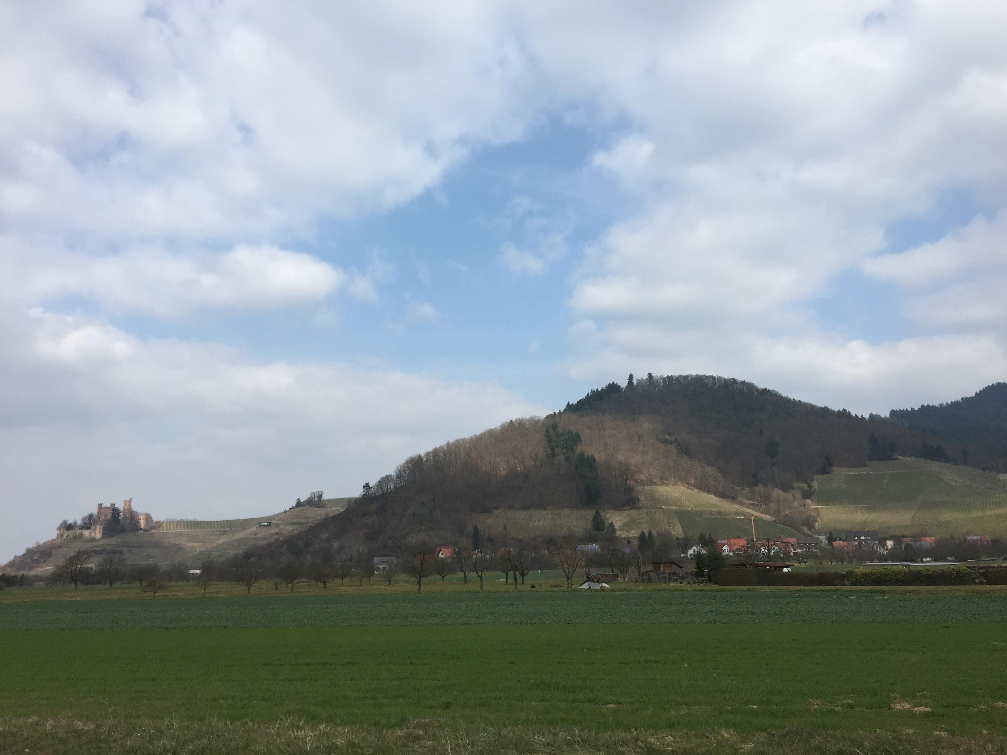 Blick auf Schloss Ortenberg