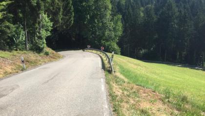 Abfahrt nach Oberhamersbach