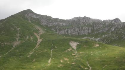 Blick auf den Anstieg zur Glattjöchlspitze