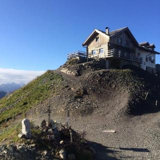 Bergvagabundenhütte auf 2530m